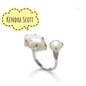 Kendra Scott Kayla Ring Ivory Mother Of Pearl s/m